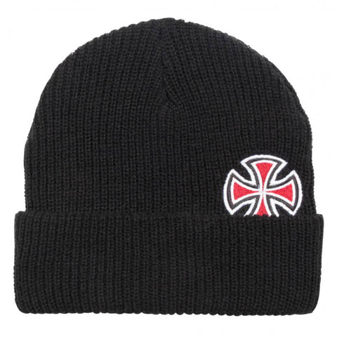 Indipendent Solo Cross Beanie Black