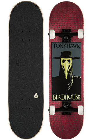 "BIRDHOUSE STAGE 3 PLAGUE DOCTOR 8""  (RED)"