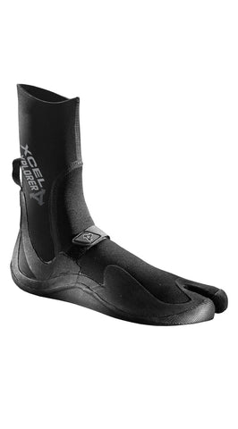 EXPLORER 3MM SPLIT TOE - CALZARE - BLACK