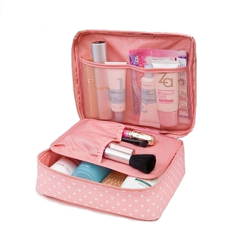 Waterproof Portable Zipper Cosmetic Bag