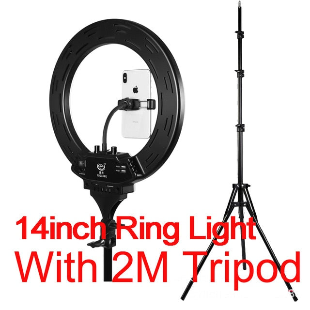 "Pristine LED 10-22"" Dimmable Selfie Ring Light"