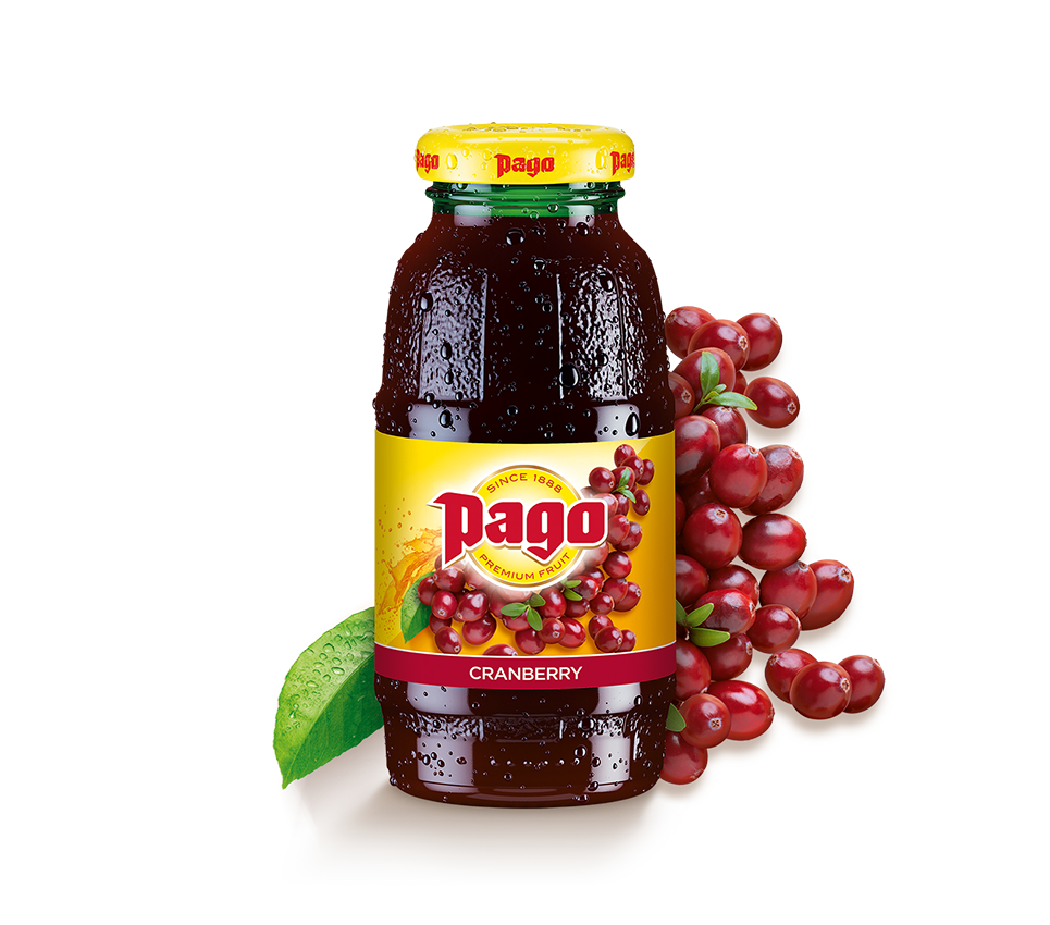 Pago Cranberry Juice (Single Bottle)