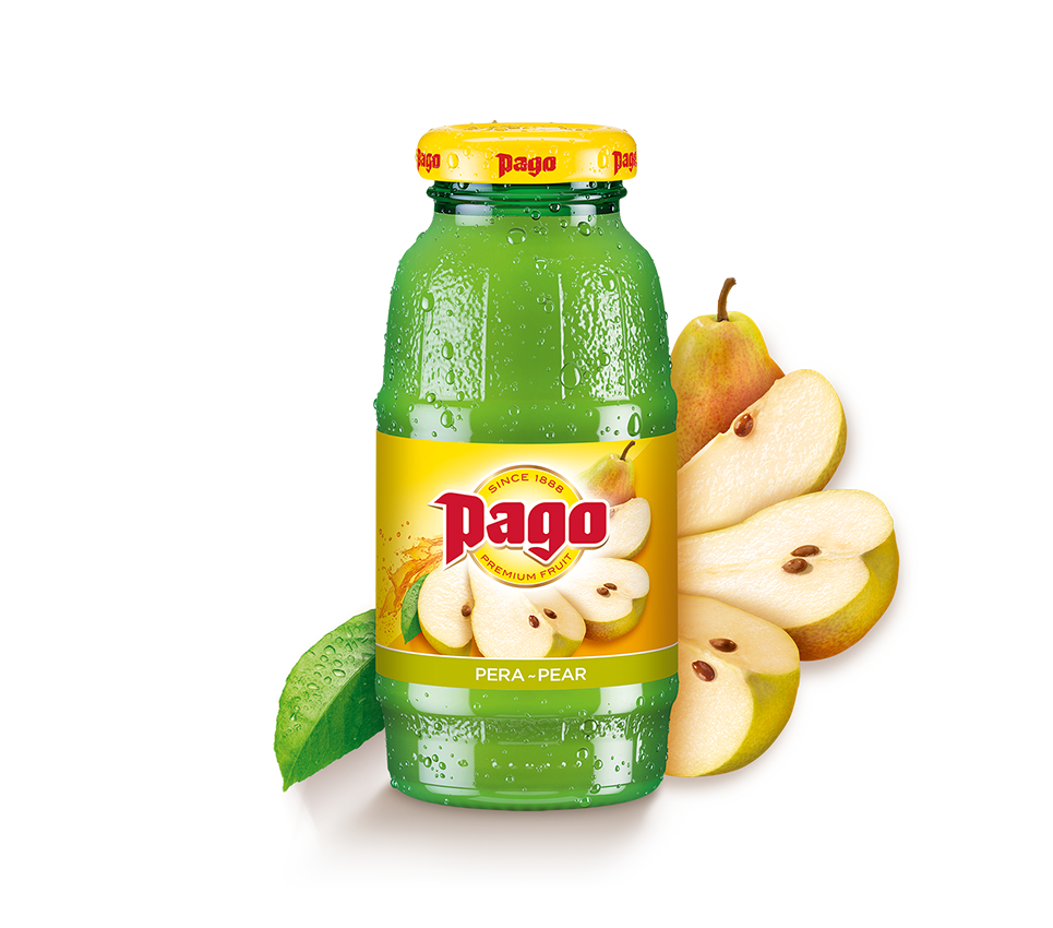 Pago Pear Juice (12x200ml)