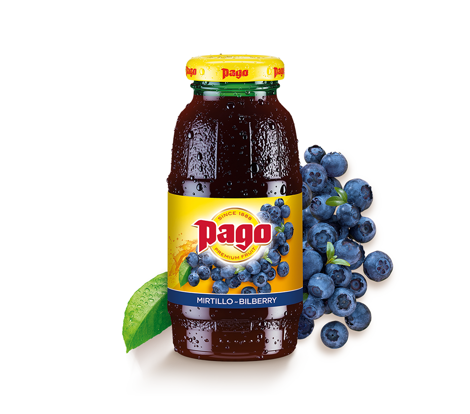 Pago Bilberry Juice (12x200ml)