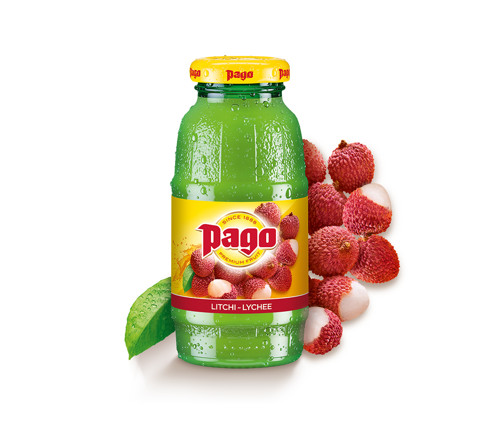 Pago Lychee Juice (12x200ml)