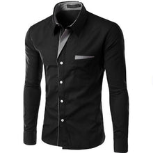 Load image into Gallery viewer, Hot Sale New Fashion Long Sleeve Shirt Men Slim Fit Formal Design Casual Brand Male