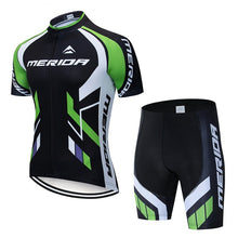 Load image into Gallery viewer, MERIDAING Team Cycling Jerseys Clothes Bike Wear Sets Gel Quick Dry Bib Wear Clothes ropa ciclismo uniformes may sport