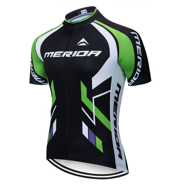 MERIDAING Team Cycling Jerseys Clothes Bike Wear Sets Gel Quick Dry Bib Wear Clothes ropa ciclismo uniformes may sport