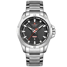 Load image into Gallery viewer, Men Watches Analog Watch Men Stainless Steel Water Resistant Quartz Date Wristwatch Relogio Masculino