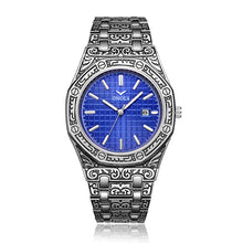 Load image into Gallery viewer, Modern Men Watch Luxury Classic Design Stainless Steel Band Gold Watches Men reloj hombre