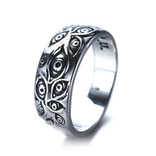 Load image into Gallery viewer, Retro fashion gothic eye ring jewelry men ladies ring party leisure jewelry accessories gift wholesale