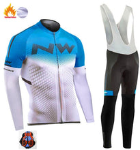Load image into Gallery viewer, Northwave Pro Team Winter Cycling Clothing Breathable Ropa Ciclismo Long Sleeve MTB Bicycle Clothing Outdoor Sport Clothes