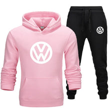 Load image into Gallery viewer, 2020 Autumn And Winter Men Hoodie Suit Pullover Sweater + Pants 2 Pieces Warm Sportswear Ropa Hombre Men