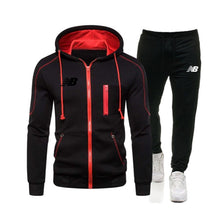 Load image into Gallery viewer, Fashion 2 Pcs / Set Men Gym Suit Fitness Sportswear Running Jogging Workout Set Sportswear