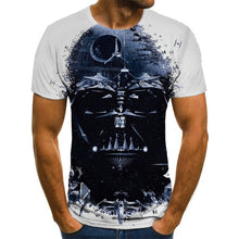 Load image into Gallery viewer, Latest Fashionable 3D T-Shirt Men Black And White Rock T-shirt Sweat Top T-Shirt Men