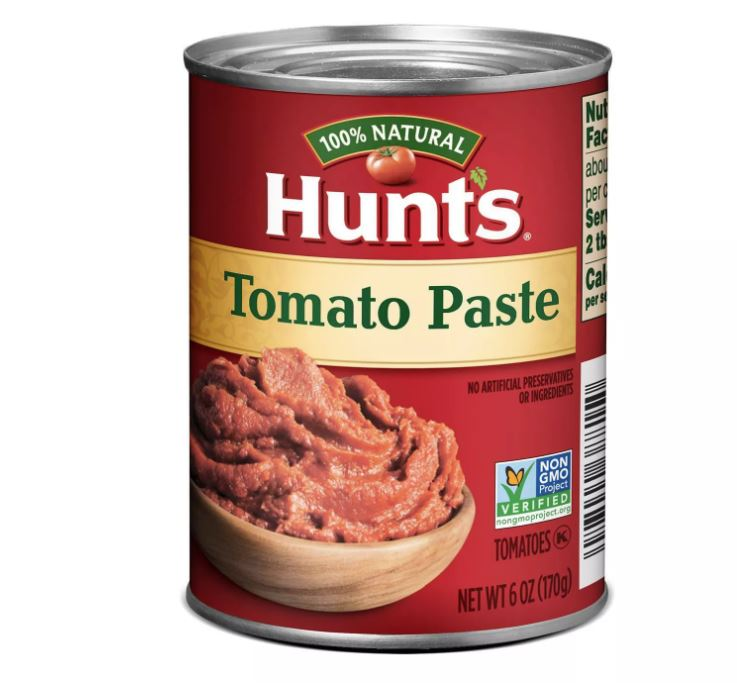 Hunts Tomato Paste 6oz (Pack of 3)