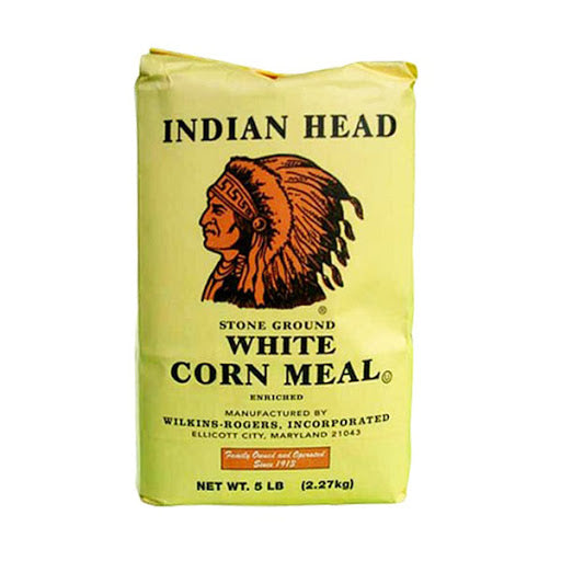 Indian Head White Corn Meal 5LB