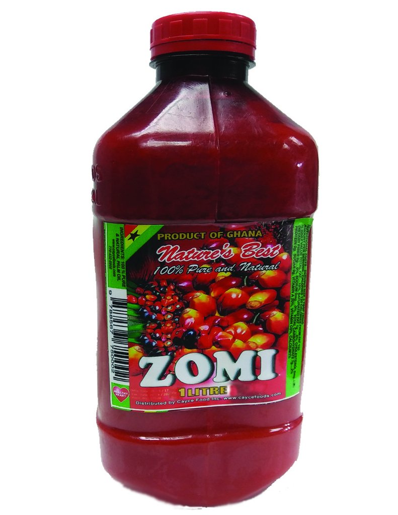 Nature's Best Zomi Palm Oil, 1L