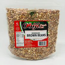 Load image into Gallery viewer, Obiji Nigerian brown beans 3.5LB