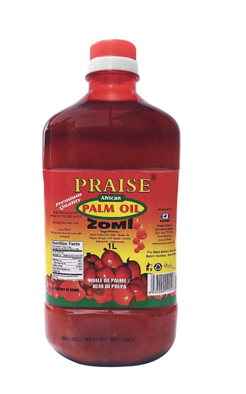 Praise Zomi Palm Oil 1L