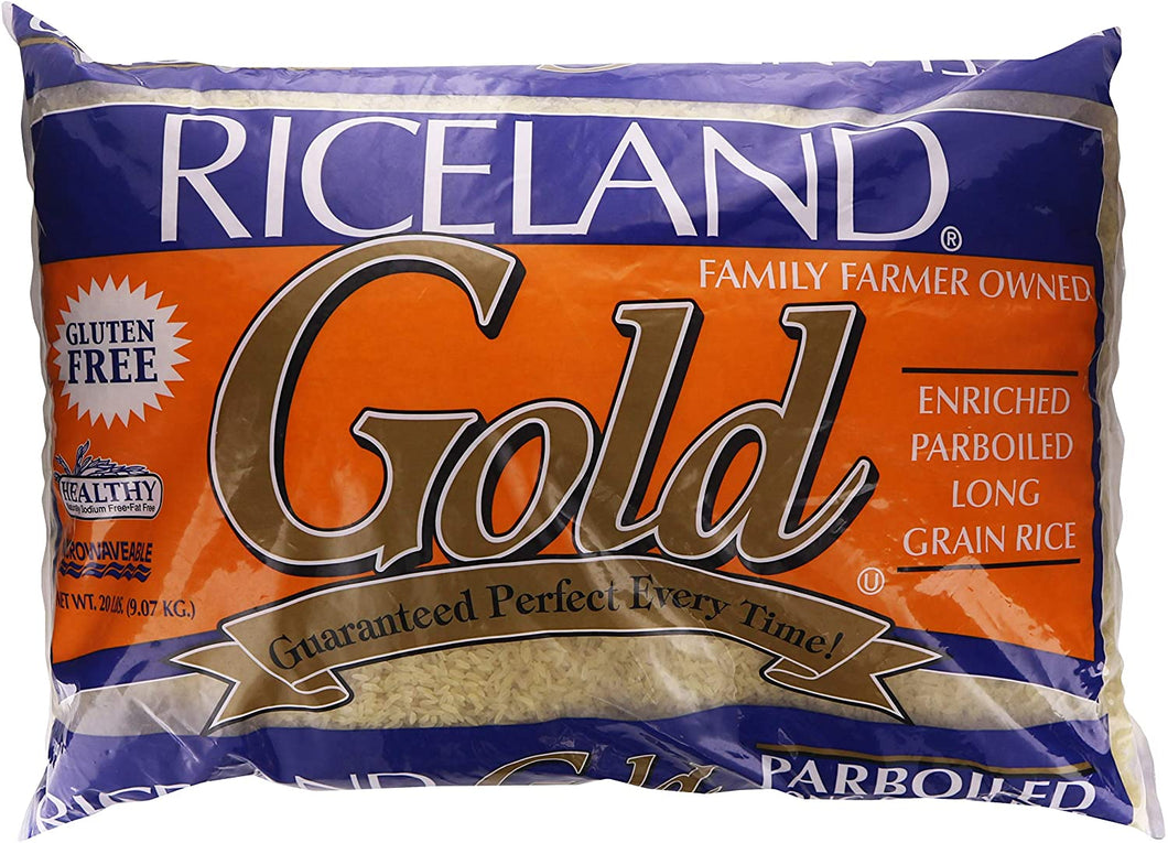 Riceland Gold Parboiled Rice 20LB