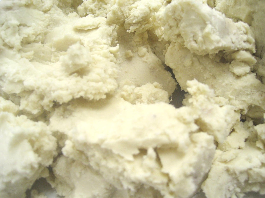 African Raw Shea Butter White 8oz