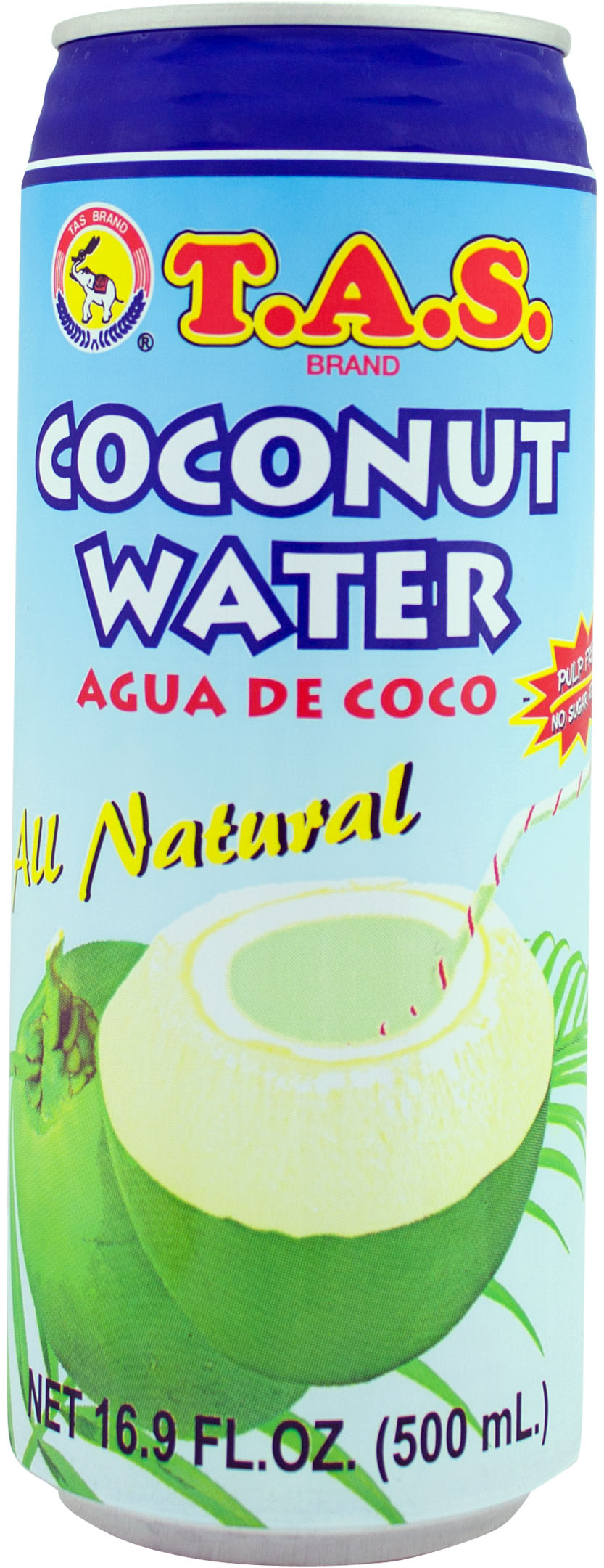 TAS Coconut Water 16.9oz (pack of 4)