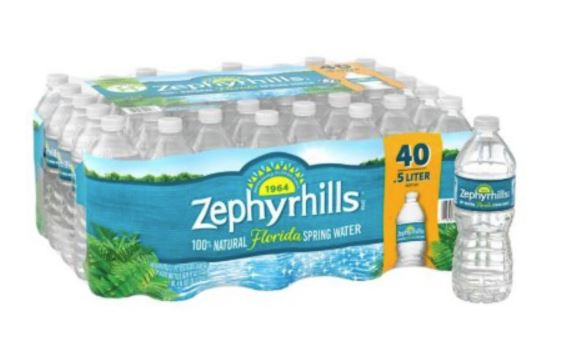 Zephyrhills Water 0.5L (Case of 40)