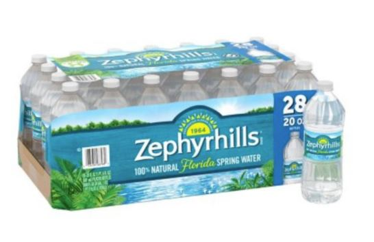 Zephyrhills Water 20oz (Case of 28)