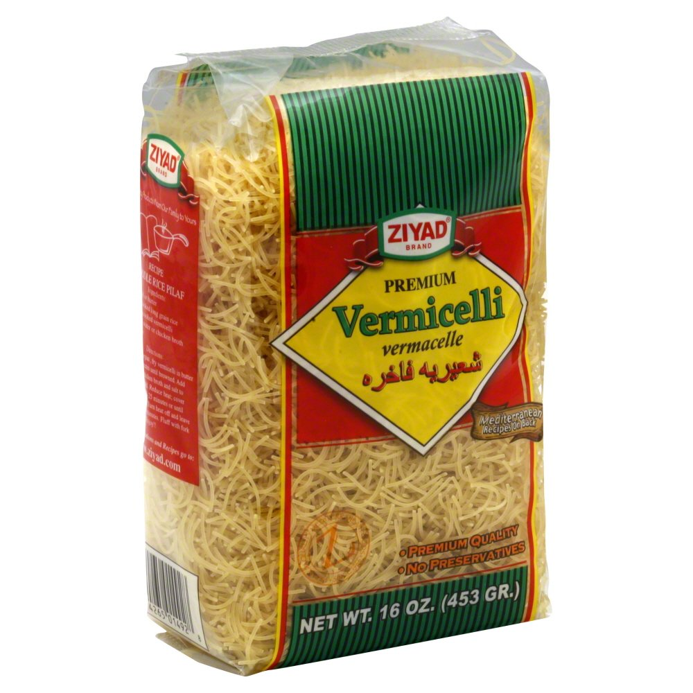 Ziyad Vermicelli 16oz (Pack of 3)