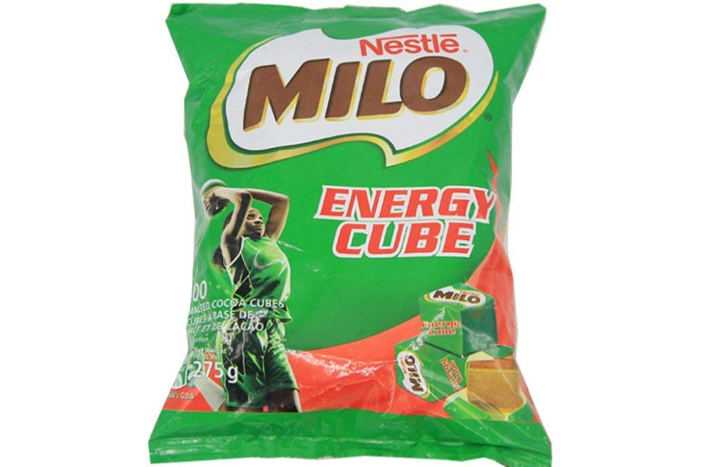 Milo Chocolate Cubes, 100 cubes bag