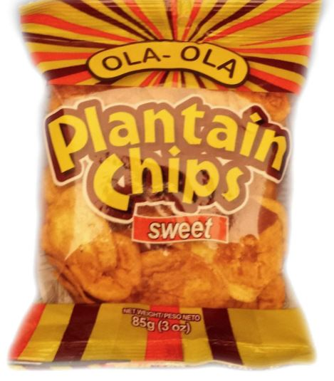 Ola Ola Plantain Chips 85g