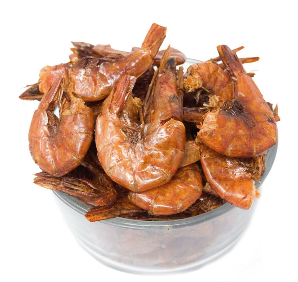 Smoked Shrimp (Whole Oporo) 1LB