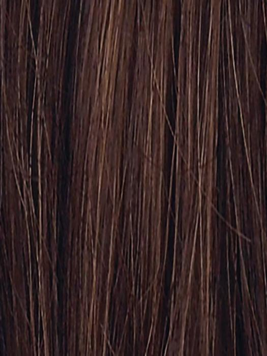 CHOCOLATE ROOTED 830.6 | Medium to Dark Brown base with Light Reddish Brown highlights and Dark Roots