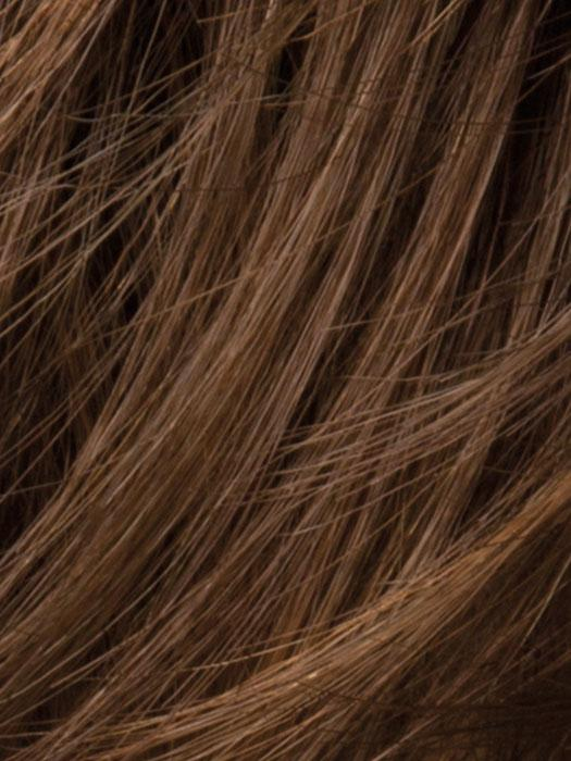CHOCOLATE-ROOTED - 6.30.4 | Medium to Dark Brown base with Light Reddish Brown highlights and Dark Roots