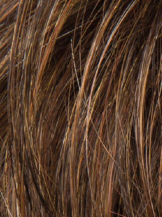 MOCCA ROOTED 830.27.12 | Medium Brown, Light Brown, and Light Auburn blend with Dark Roots