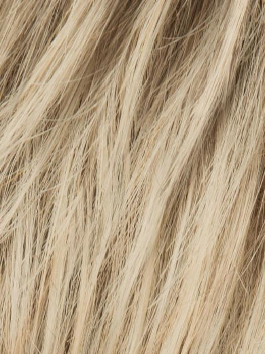 CHAMPAGNE TONED 22.16.25 | Medium Beige blonde blended with lightest blonde, and lightly rooted, with a root