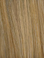 SANDY-BLONDE-ROOTED 20.22.16 | Medium Honey Blonde, Light Ash Blonde, and Lightest Reddish Brown blend with Dark Roots