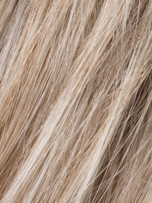 PEARL ROOTED - 101.48.60 | Pearl Platinum blended w/ light chestnut brown-50% gray and Lightest Ash Brown mix