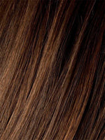 CHOCOLATE-ROOTED | Medium to Dark Brown base with Light Reddish Brown highlights