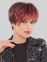 JAZZ by Ellen Wille in HOT FLAME MIX | Bright Cherry Red and Dark Burgundy mix