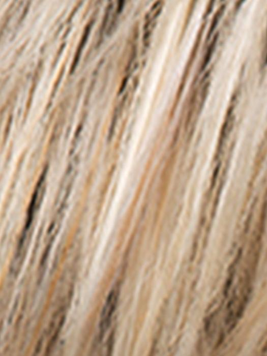CHAMPAGNE ROOTED - 22.16.26 | Light Beige Blonde,  Medium Honey Blonde, and Platinum Blonde Blend with Dark Roots