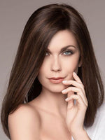 SPECTRA PLUS by ELLEN WILLE in DARK CHOCOLATE MIX | Dark Brown base with Light Reddish Brown highlights