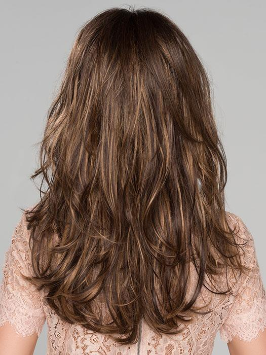 The density of the ready-to-wear synthetic hair looks more like natural hair