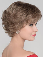 AURORA COMFORT by ELLEN WILLE in DARK SAND MIX | Light Brown base with  Lightest Ash Brown and Medium Honey Blonde blend