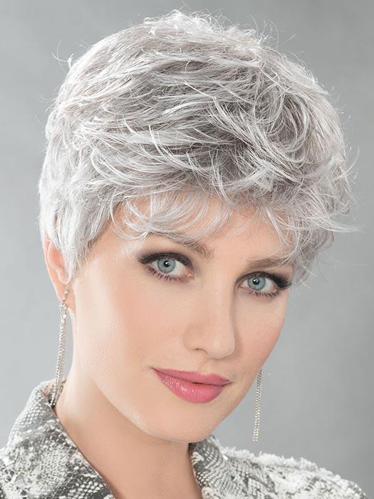 DOT by ELLEN WILLE in SILVER GREY MIX 56.60 | Pure silver white With 75% Brown