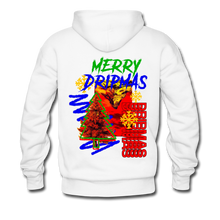 Load image into Gallery viewer, Merry Dripmas - Unisex Hoodie - white