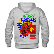 Load image into Gallery viewer, Merry Dripmas - Unisex Hoodie - heather gray