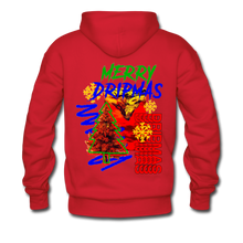Load image into Gallery viewer, Merry Dripmas - Unisex Hoodie - red