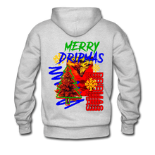 Load image into Gallery viewer, Merry Dripmas - Unisex Hoodie - ash